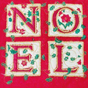 Noel Christmas Red Towel